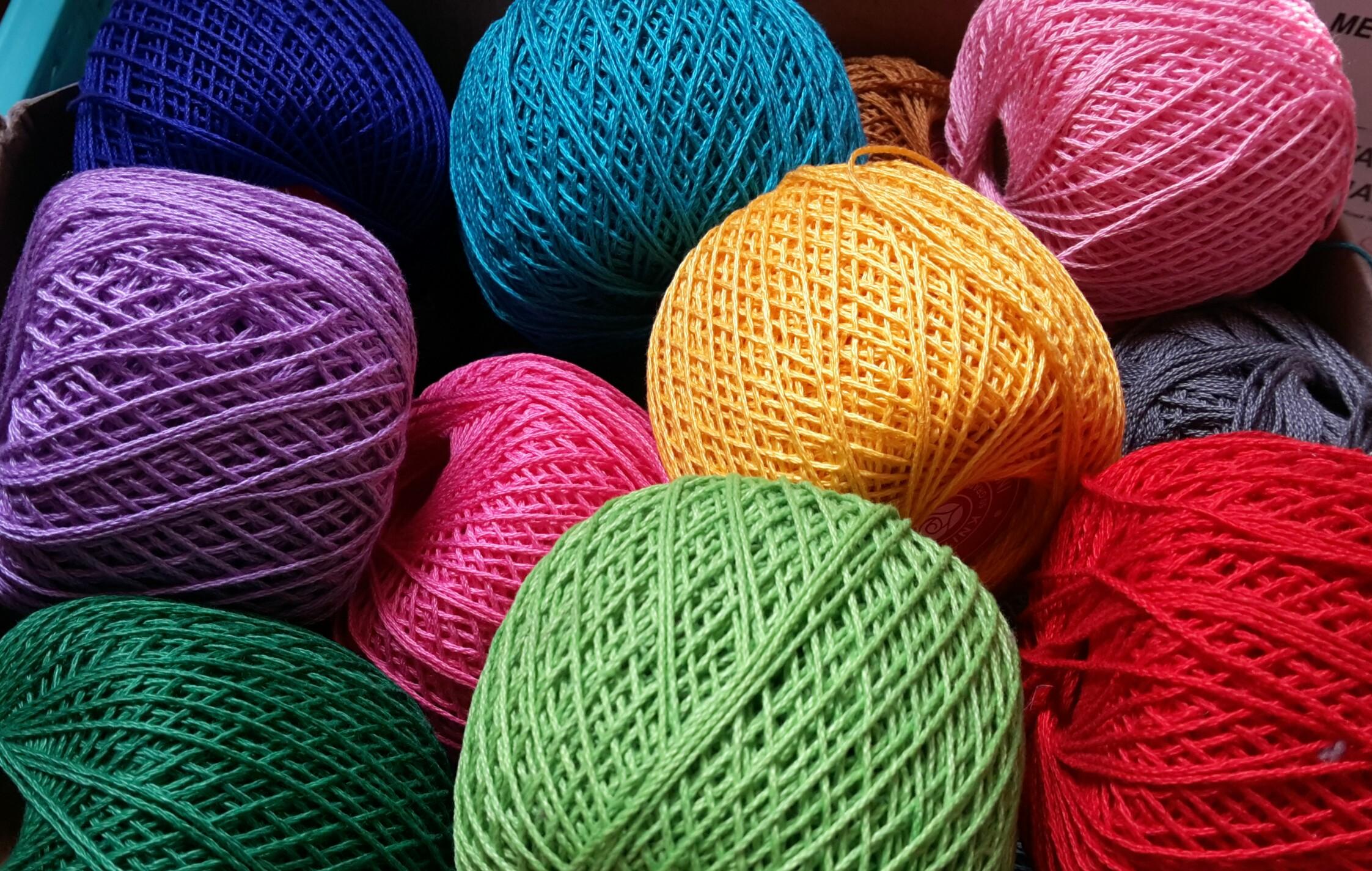 White Rose Knitting Cotton