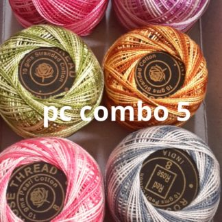 pearl cotton combos (thin thread category)