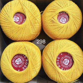 Knitting Cotton 16 By White Rose ( tkt 16 thickness)