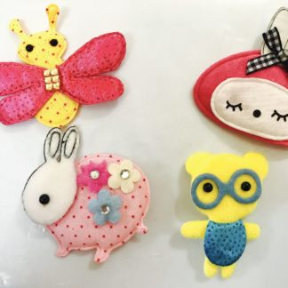 Cloth Stickers and Embellishments
