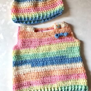 Baby Sweater and Cap Sets