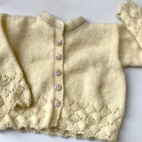 Baby Hand Knitted Full Sweater The Crochet Bella