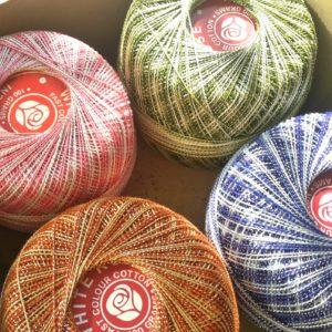White Rose Metallic thread no.20