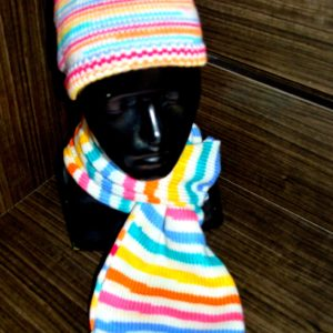 Scarf and Muffler Set(7-8years)