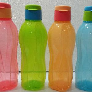Tupperware-Aquasafe-Water-Bottle-Eco-Sports-Flip-Top