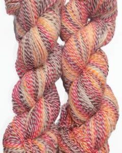 Shaded 8 ply yarn