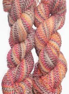 Shaded 8 ply yarn