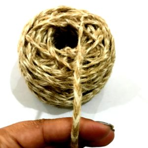 Jute Threads for Craft and Crochet