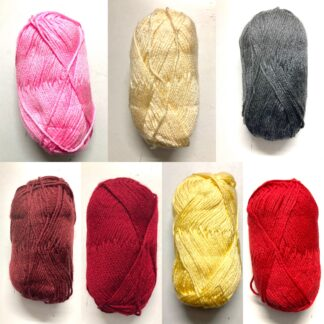 Heartbeat Yarn (equivalent to 6ply thickness)