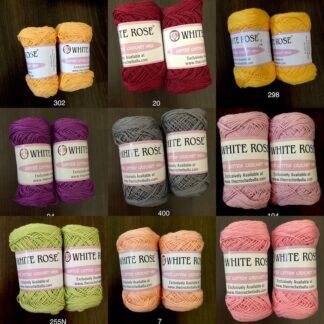 Softee Cotton Crochet Yarn. - tkt 14 - equivalent to 2ply yarn