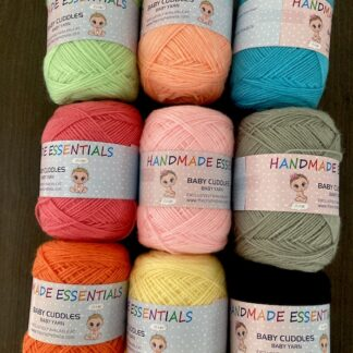 Baby Cuddles - The Baby Yarn(2ply equivalent thickness)