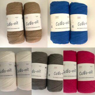 Ganga Cotto- nit (Ribbon Yarn)
